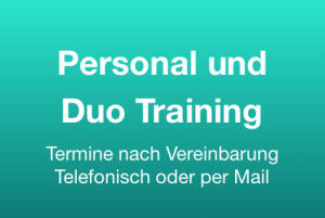 Personal & Duo Training